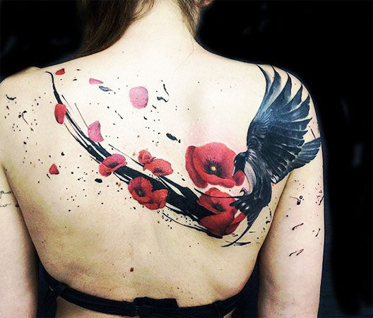Significado de Tattoos de aves