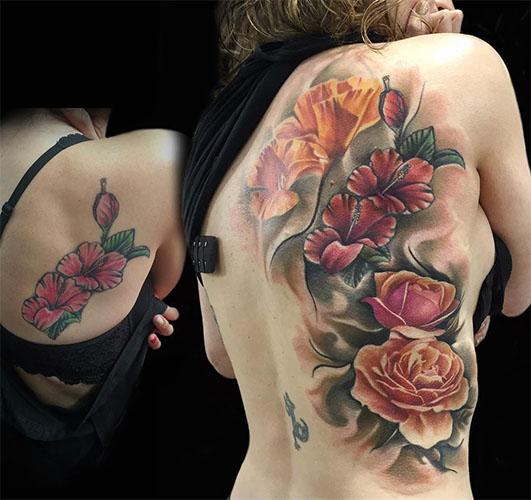 significado de tatuajes de flores