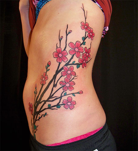 tattoo flor de cerezo