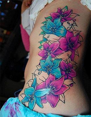 tattoo flor de lirio