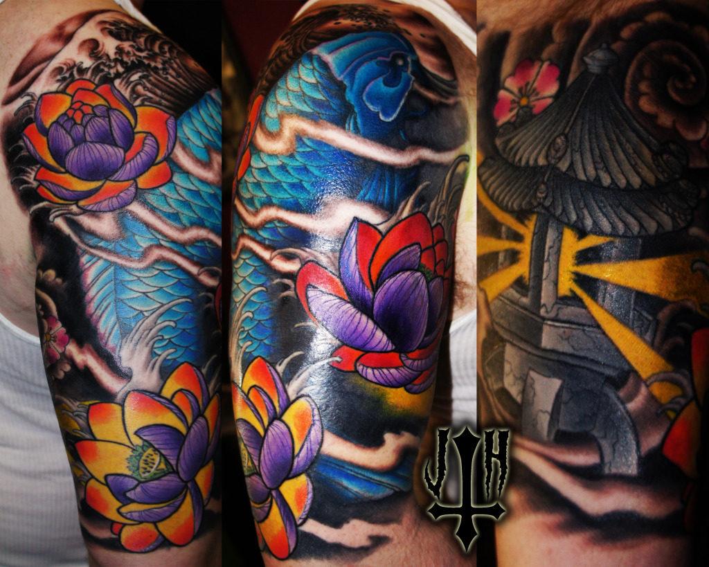 Que significan Tatuaje de Pez Koi