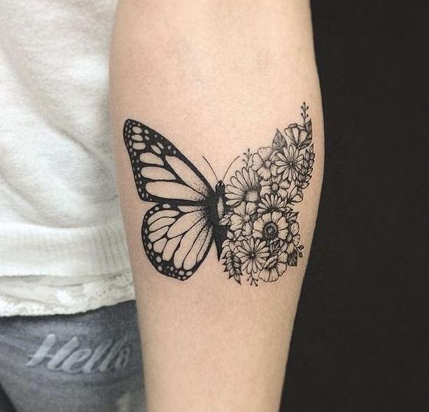 27 Tatuajes De Mariposas Significados Descúbrelos