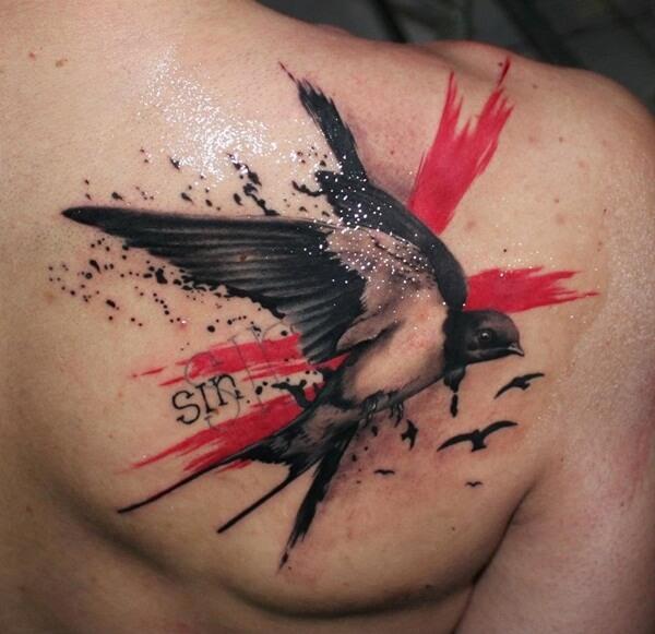 Mejores Tatuajes De Golondrinas Para Mujeres Y Hombres