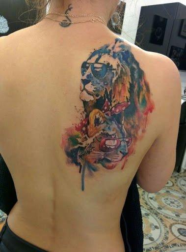 imagenes de tatuaje de leones