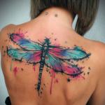 tattoo de libelula