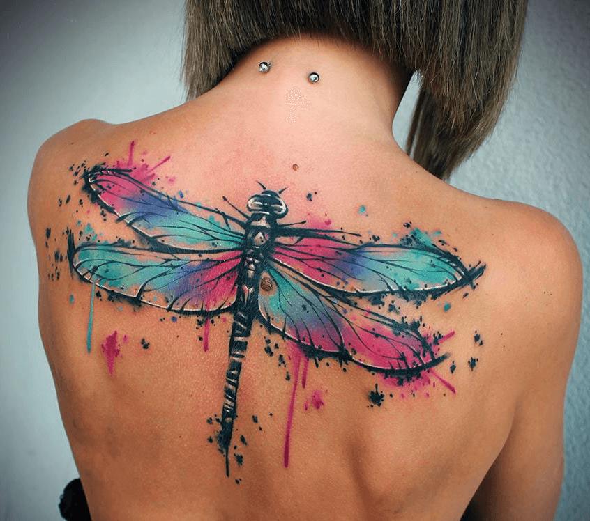 Top Mejores Tatuajes De Libélulas Con Significado 2018
