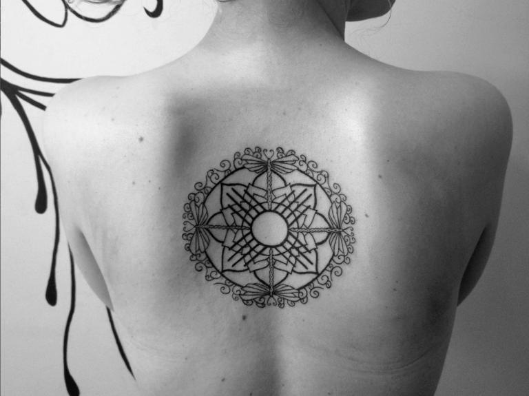 tattoo pequeñas libelulas