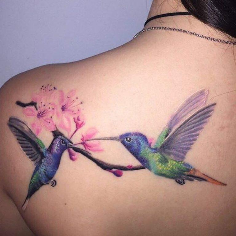 Top Tatuajes De Colibrí Hombre Mujer Significado 2018