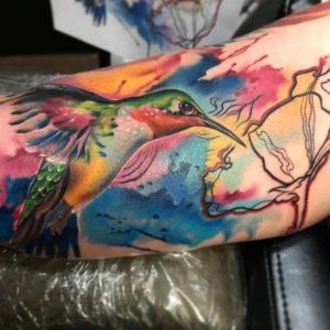 tatuajes de colibries simbolismo