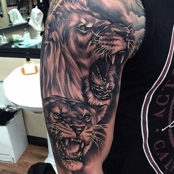 tatuajes de leones significado