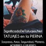 Significado de tatuajes en la pierna