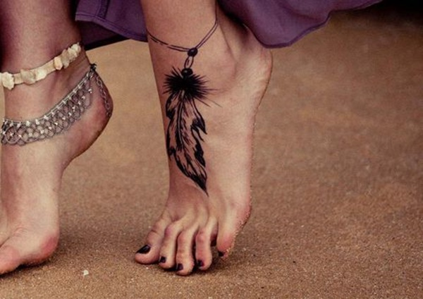 Tatuajes Tobilleras Mujer ✗ top +20 tatuajes en el pie (hombre & mujer) + significado 【2018】