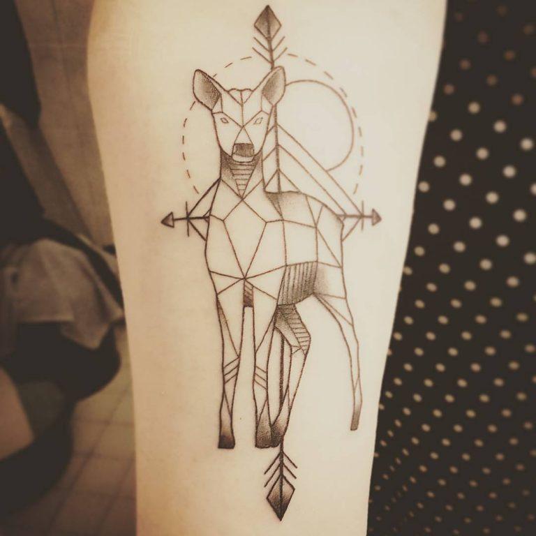 ideas para tatuajes de alces