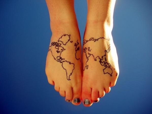 imagen de tatuaje en el pie