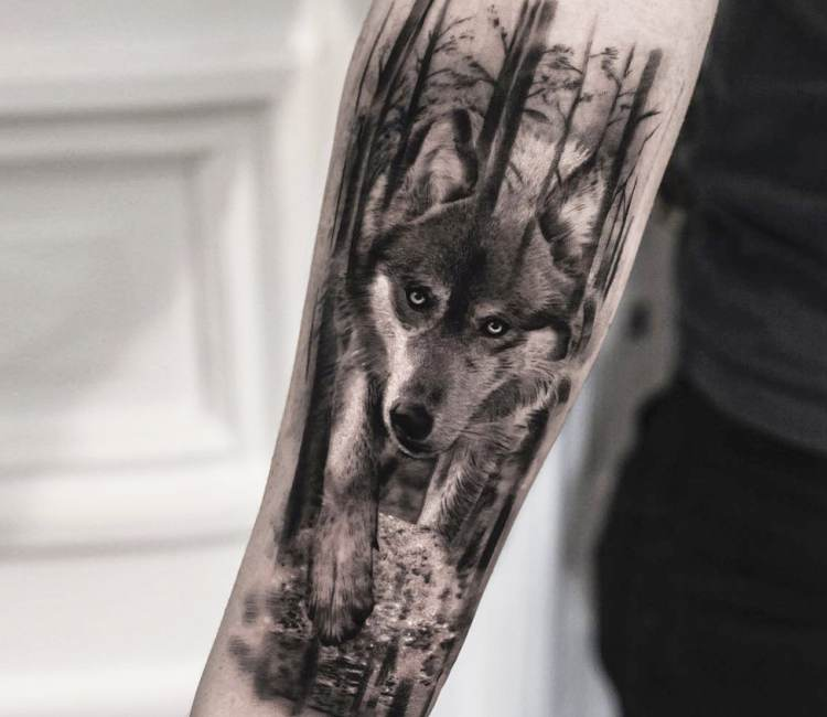 35 Mejores Tatuajes De Lobos Significados Y Diseños 2019