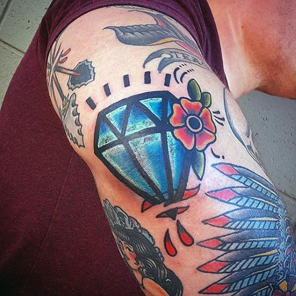 diseños de tatuajes de diamantes