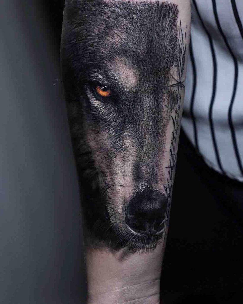 ojo de lobo realismo