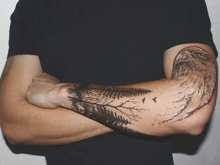que significan los tatuajes de bosques