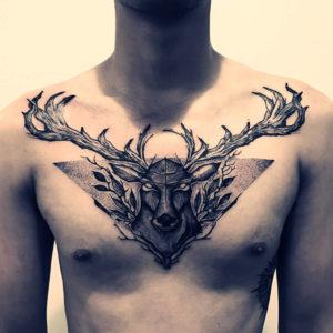 que simboliza el tatuaje de ciervo