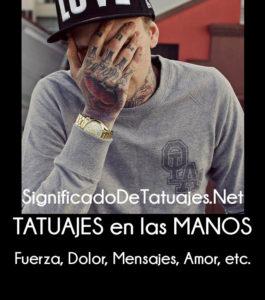 significado de tatuajes en las manos