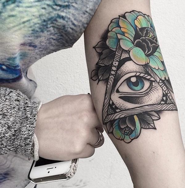 simbolismos de tattoo de triangulo