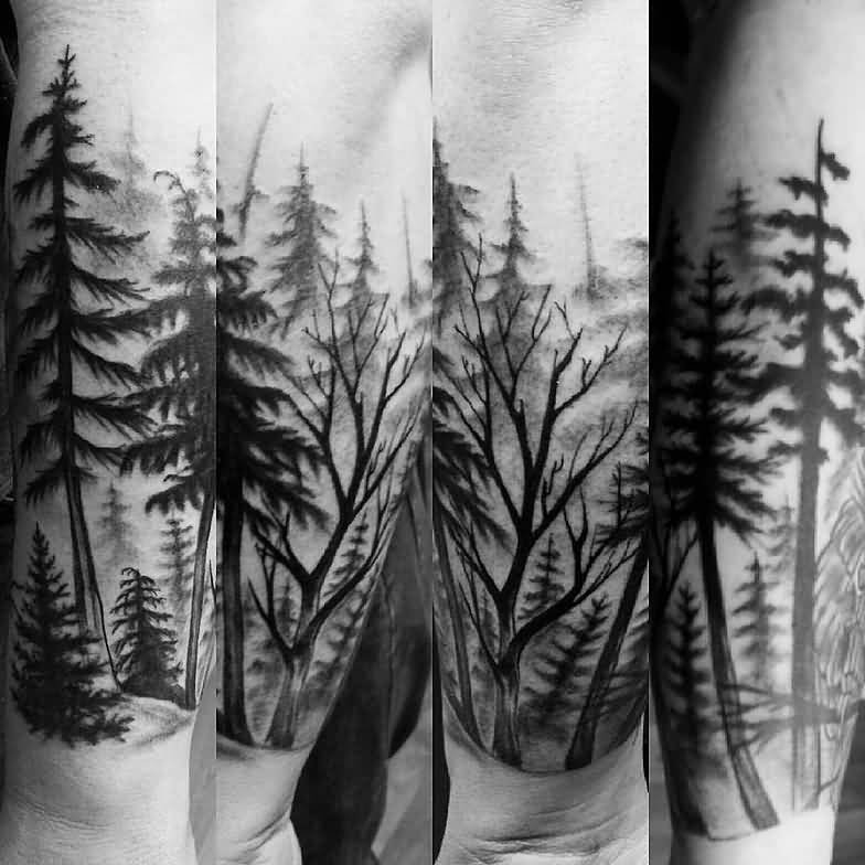 tattoo de bosque seco