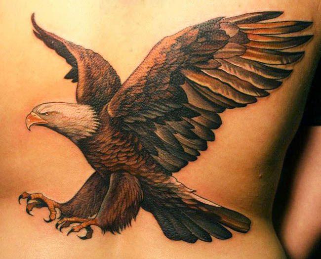 tatuaje de aguila