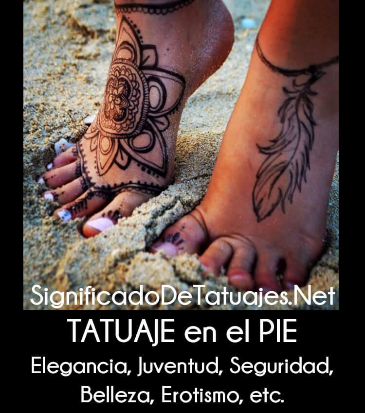 Tatuajes Pies Mujer ✗ top +20 tatuajes en el pie (hombre & mujer) + significado 【2018】