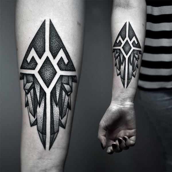 tatuajes abstractos hombres