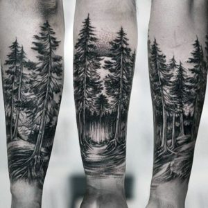 Mejores Tatuajes de Bosques