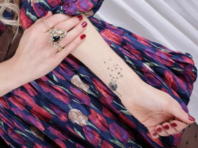 Tatuajes De Diente De León Hombre Mujer 2019