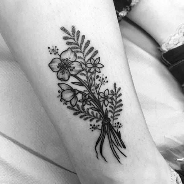 ramo floral tatto
