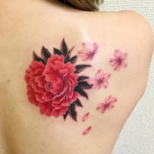 Tatuajes De Flores Para Mujeres Y Hombres Descúbrelos