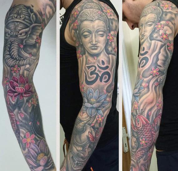 tattoo grande en el brazo
