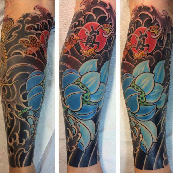 tatuajes con flores