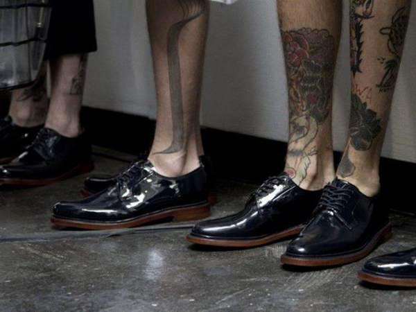 tatuajes en las piernas hombres