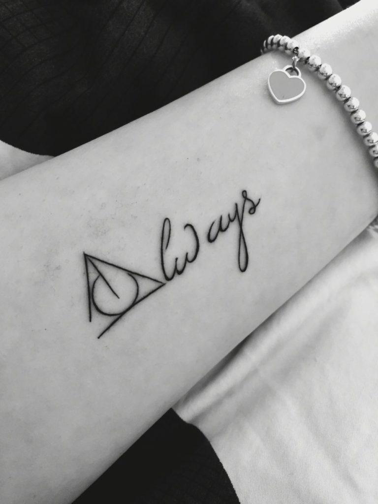 always tatuaje mujer