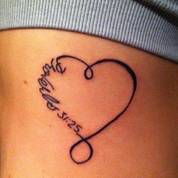 corazon con nombre y fecha