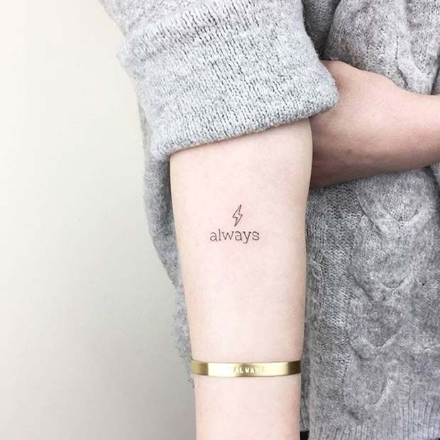 pequeño tatuaje de harry potter para parejas