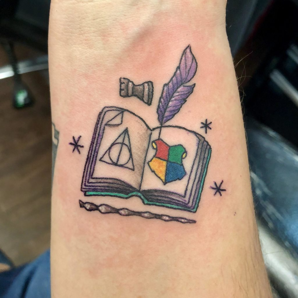 tattoo libro de harry potter