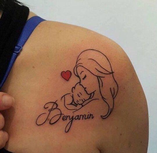 30 Tatuajes De Nombres Hombres Y Mujeres Significados