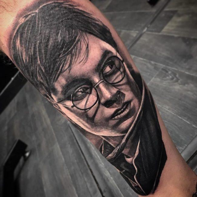 tatuajes de harry potter realistas 3d