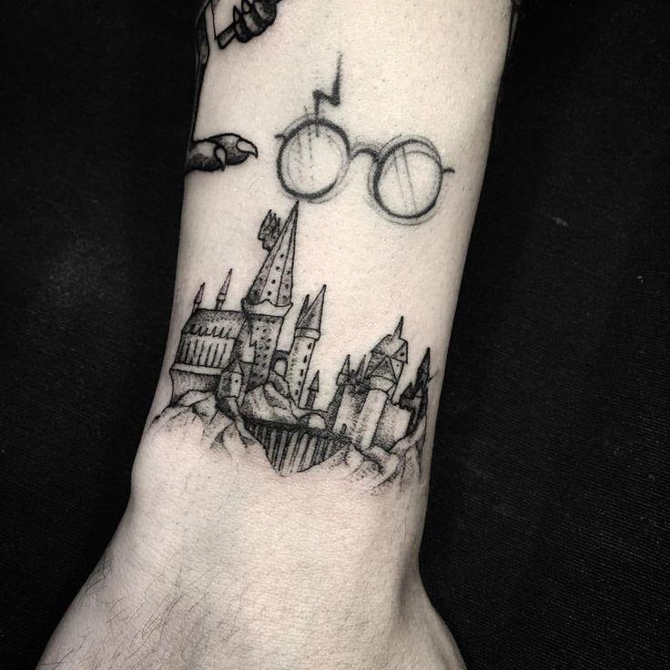 25 Mejores Tatuajes De Harry Potter Para Fans 2019