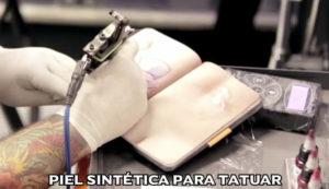 piel sintetica para tatuar