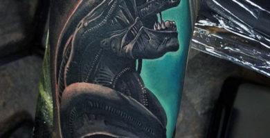Diseño de Tatuajes de Aliens
