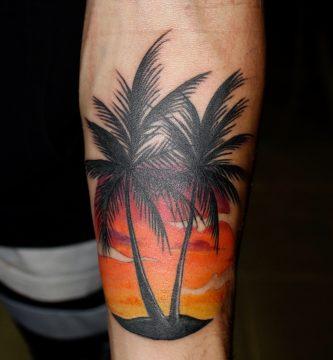 Mejores Tatuajes de Palmeras