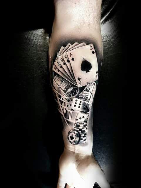 tattoo de poker