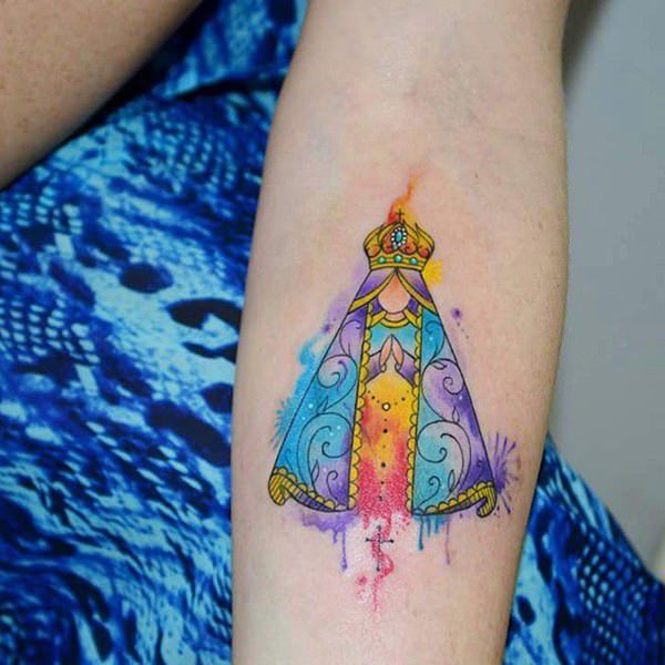 tattoo de virgen