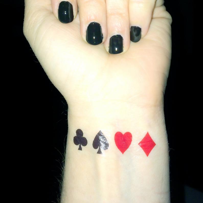 tattoo poker pequeño