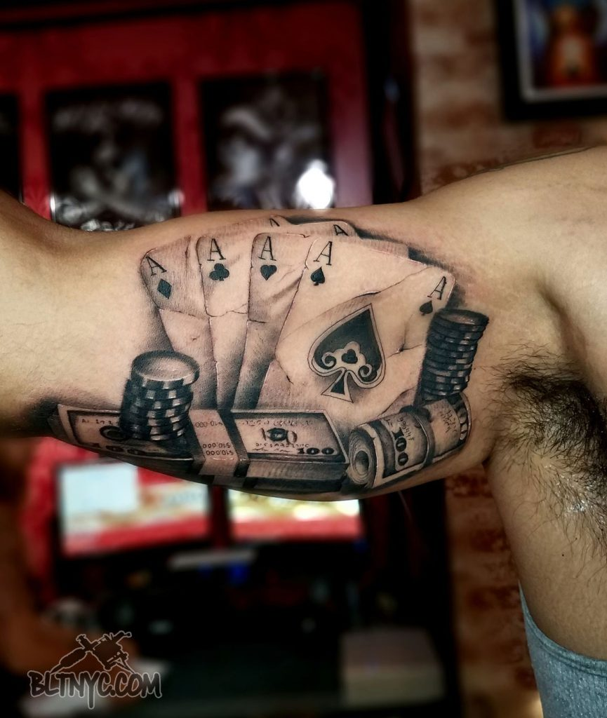 tatuaje 4 aces